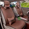 Venda QUENTE tampa de assento do carro Universal para Lada auto cobre accassories interior com apoio lombar encosto de cabeça do carro styling