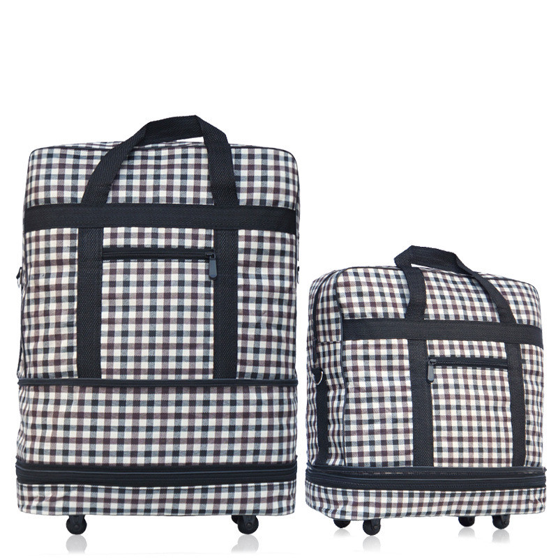 2018 горячий дизайн оптовая продажа складной большой емкости Универсальный колеса выдвижной складной буксир сумки Сверхлегкий багажа travel box