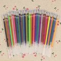 36pcs/Set Flash Gel Pen Refill Color Full Shinning Refill For The Child'S Drawing Office Stationery 36 Colors