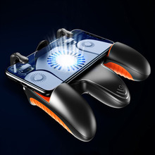 Pubg Mobiele Joystick Controller Koeler Gamepad Gratis Brand L1R1 Met Ventilator Koeling Voor Mobiele Telefoon Game Controller Joystick Knoppen