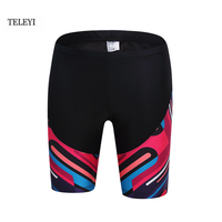 TELEYI Womens Cycling Shorts Breathable Gel Padded Short Outdoor Summer Ciclismo MTB Road Mountain Bike Bicycle