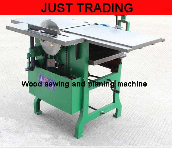 Woodworking Machine Electric Wood Planer Wood Sawing And Planing