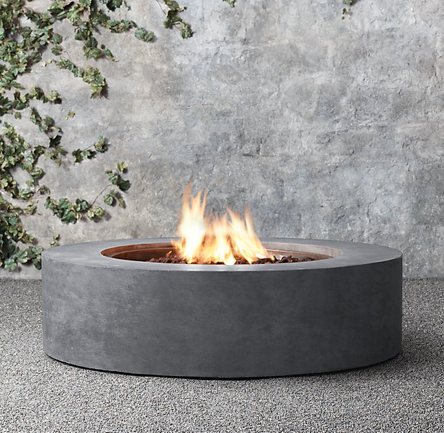 Us 880 0 On 8 Liter Round Ethanol Burner Outdoor Fireplace In Fireplaces From Home Improvement Aliexpress