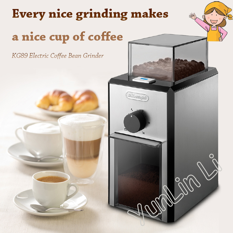 Household Coffee Grinder Commercial Electric Coffee Bean Grinder Stainless Steel Coffee Bean Grinding Machine KG89