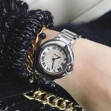 Top Quality Women Carter Style Watch Stainless Steel Quartz Luxury Women cart watches amazing Classic Brand Wristwatches