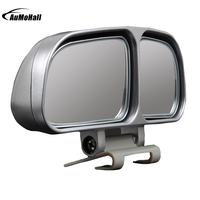 1 Pair Auto Wide Angle Rear Mirrors Side RearView Car Universal Blind Spot Square Mirror Of