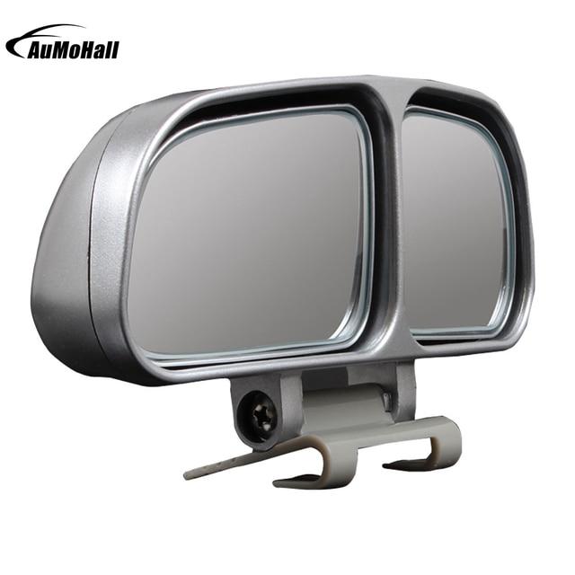 1 Par Auto Wide Angle Blind Spot Espelhos Retrovisores Laterais Retrovisor Do Carro Universal Espelho Quadrado de 2 Cores