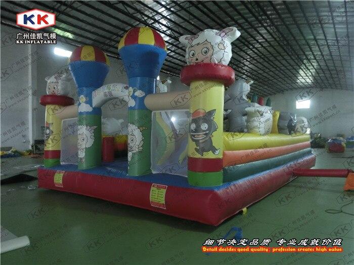 garden inflatable gaint cheaper cartoon inflatable games