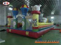 garden inflatable gaint cheaper cartoon inflatable games fun city