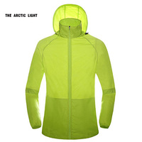 Spring Summer Outdoor Sport Thin Jacket Windbreaker Waterproof Sun Protection Movement Coat Lightweight Quick Dry Hiking