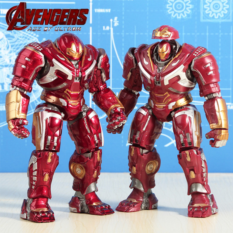 18cm Marvel Avengers Iron Man Hulkbust Action Figure Toys For Boys 2020 New Hot Toys Ironman Hulk Buster Figuras Party Supply