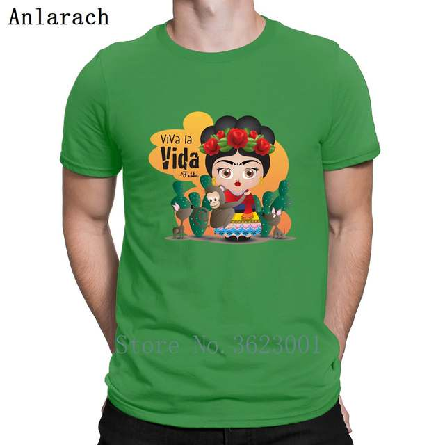c13b62ccb placeholder Frida Kahlo Quotes T Shirt Classical Male Graphic Spring  Printed Tshirt Personality Outfit Family Short Sleeve