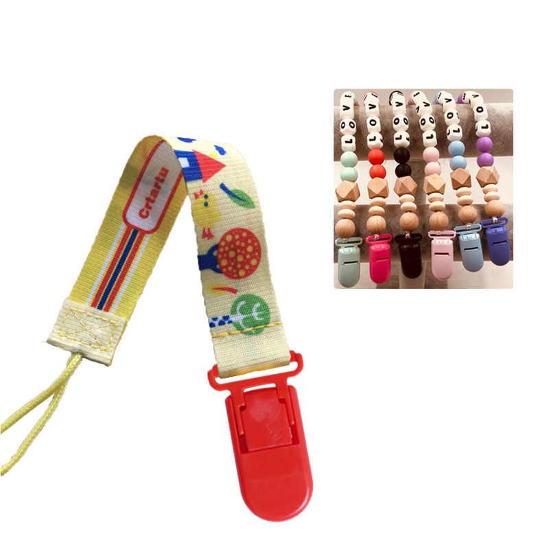 Accesorios para mordedor de bebé, collar de dentición, cordón de Rattel, DIY para joyería, encantos, collar, colgantes, herramienta