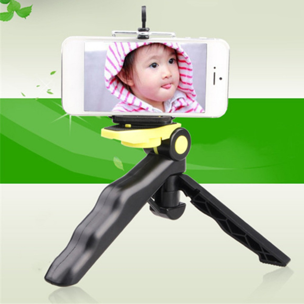 Onleny Mini Portable Mobile Phone Selfie Tripod Stand Mount Holder 360 Degree Rotation Watching Movies Phones Holder For Iphone