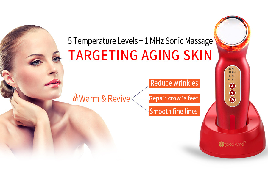 La goodwind CM-1-2 Facial Body Lifting Firming V Shape Beauty Skin Care Machine Massager Electric Spa Health Ultrasonic Cleaner 10