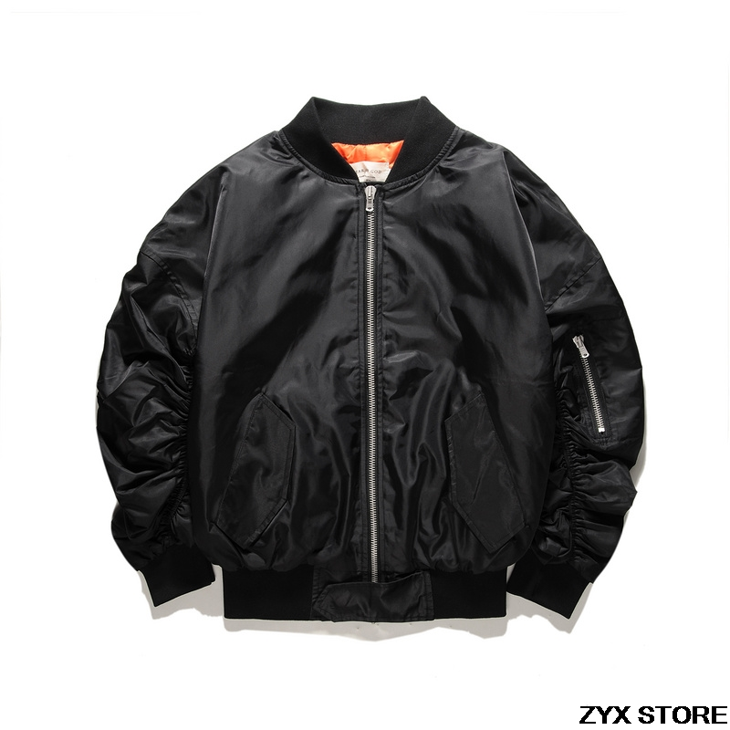 fcb7dfc67bbf5d Best Quality Fear Of God Fourth Collection Women Men Jacket Hiphop Rubber  Band Sleeve Bomber Jacket