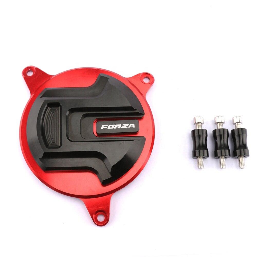 Moto modifier accessoires CNC en alliage d'aluminium moteur Crash protecteur moteur couverture pour Honda Forza 300