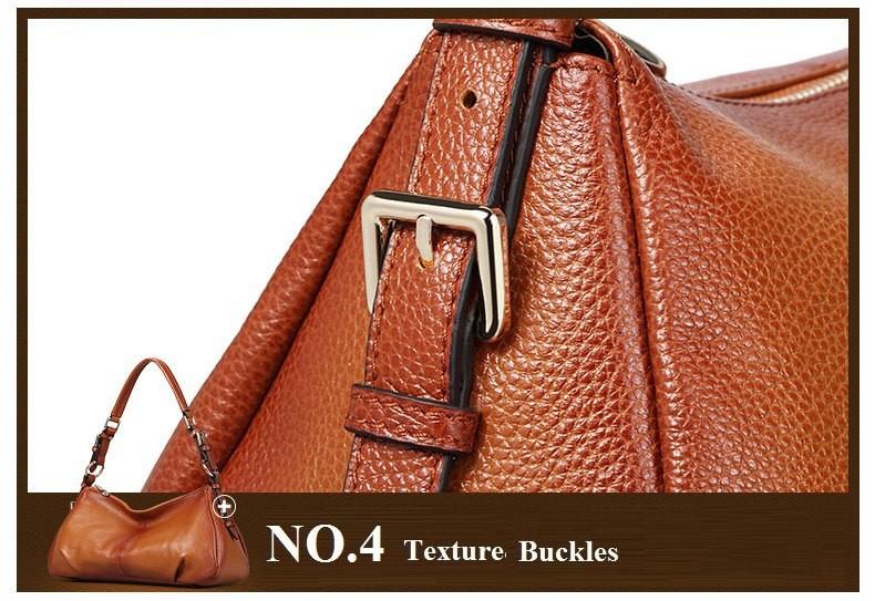 Ladies Handbags 2016 New Womens Bags And Purses Solid Women Leather Shell Bag Bags Zipper Retro Designer Handbags High Quality_043