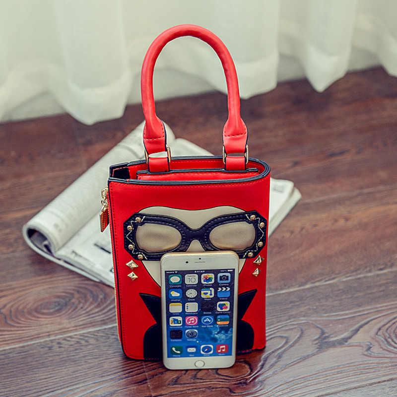 8630a96441b1 ... Новая стильная пикантная Женская мода узор серьги украшенные женские  сумки через плечо сумка повседневная сумка ...