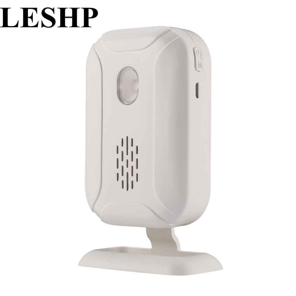 36 ringtones Shop Store Welcome Chime Wireless Infrared IR Motion Sensor Door bell Alarm up to 280M Detector Alarm Home Security 2018 welcome alarm chime wireless security alarm system protection infrared ir motion sensor door bell alarm doorbell diy kit