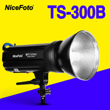 NiceFoto TS-300B 300W Studio Flash 2.4GHz built-in receiver TS300B Professional photography studio light lamp