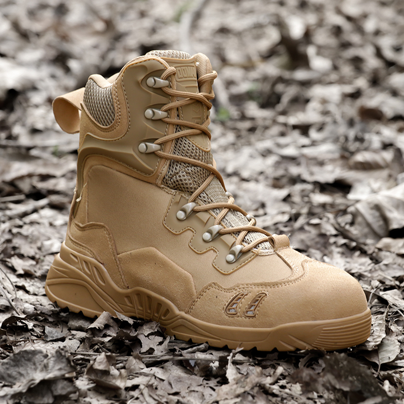 Tactical Boots Men Outdoor Hiking Shoes Military Hunting Boots Mens Sapato Masculina Shoes Mountain Tactico Desert Non-Slip Boot 2016 sale professional men s boots camouflage military boot waterproof hunting hiking shoes size euro 39 44 bo01