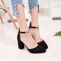 2018 Summer Women Shoes Pointed Toe Pumps Dress Shoes High Heels Boat Shoes Wedding Shoes Tenis
