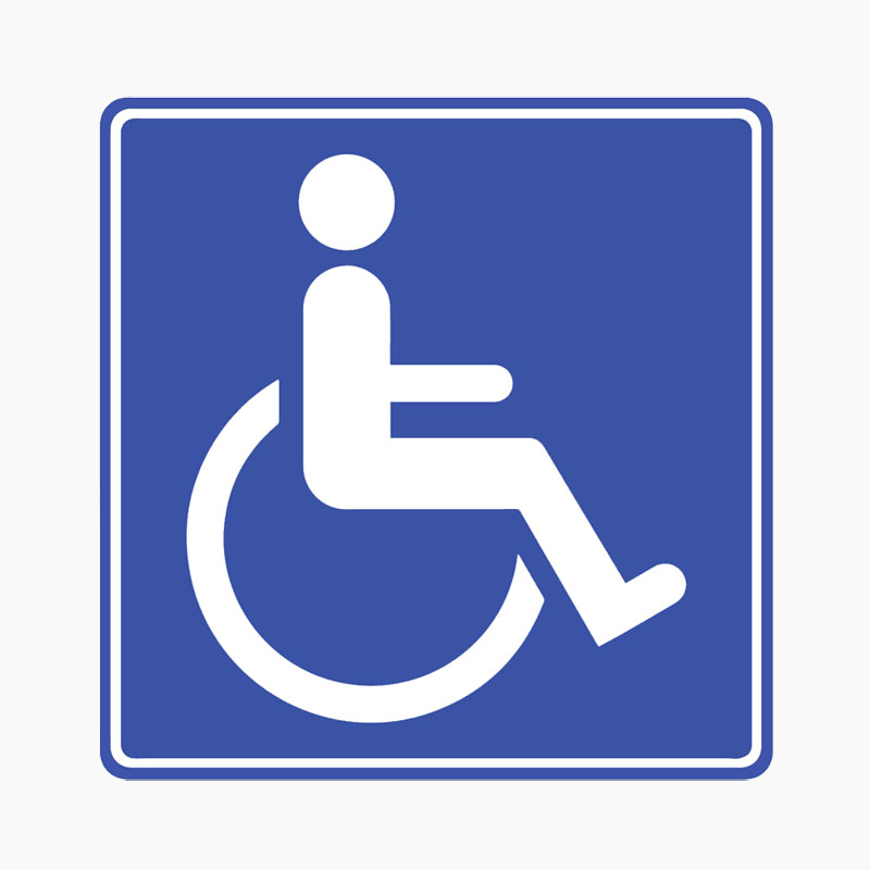 Disability car stickers