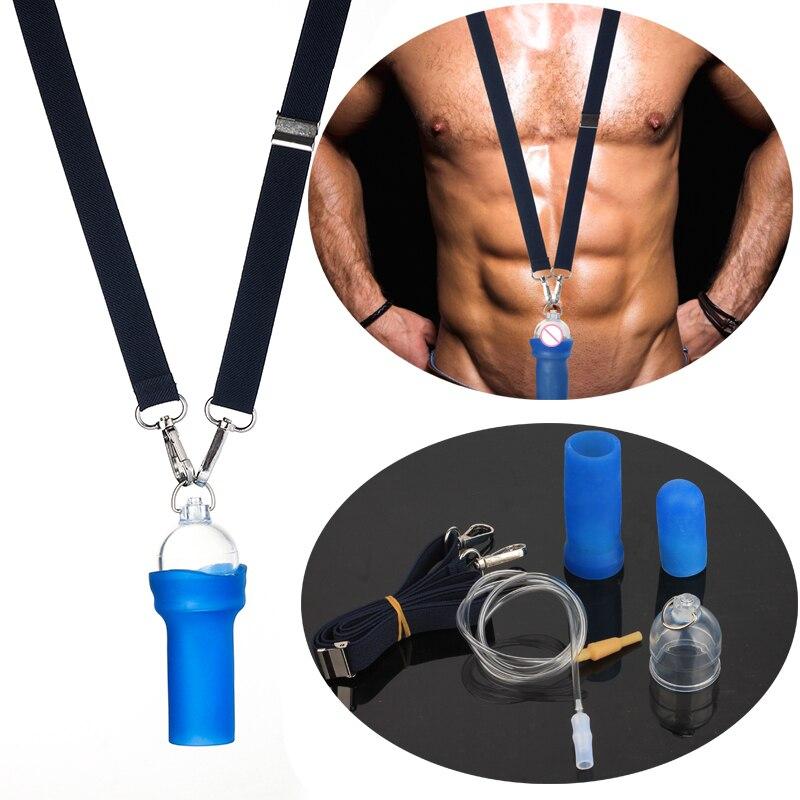 Profesional extensor de pene masculino enlarger enhancer Sistema de estiramiento kit de mejora de hombre, phallosan androgrow pene bomba alargamiento de pene