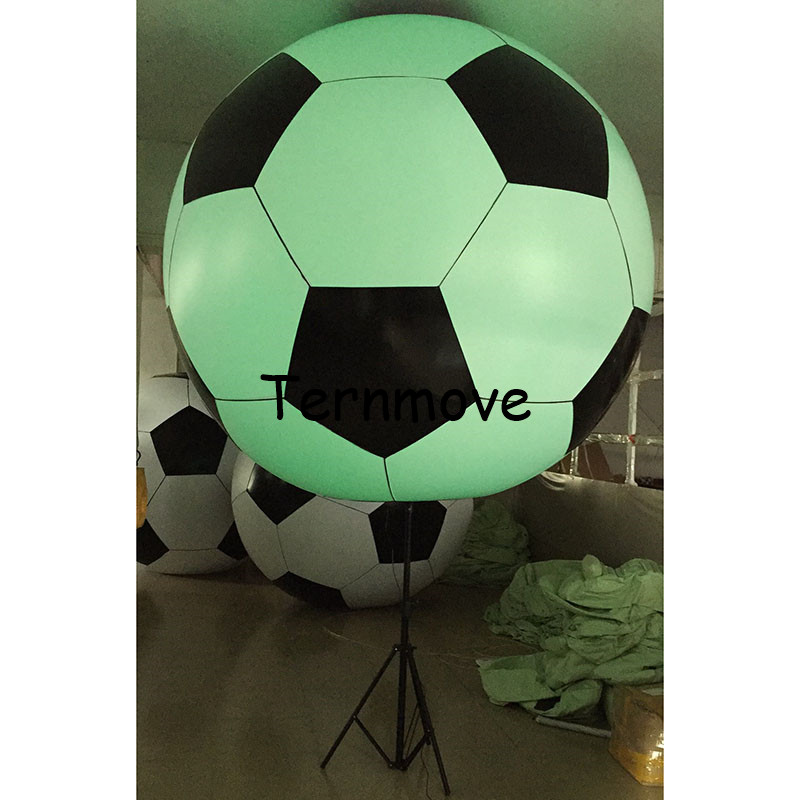 Inflatable Remote Control Balloon Christmas Decor Inflatable Tripod Balloons with LED Lighting soccer ball for Party AdvertisingInflatable Remote Control Balloon Christmas Decor Inflatable Tripod Balloons with LED Lighting soccer ball for Party Advertising