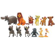 Get more info on the 12 pieces cartoon the lion guard king Kion Simba PVC action figures doll kids Toys for children for children B516
