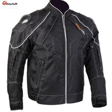 Winter Motorcycle Jacket Mens Protective Gear Motos Riding Jacket Armor Chaqueta Moto Carbon Fiber Shoulder Motocross Jackets недорого