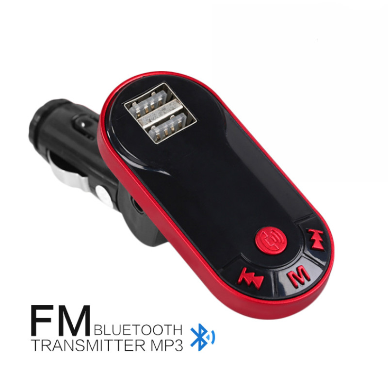 цена на Auto Parts Charger Adapter Mp3 Car Kit Music Player Bluetooth Wireless Car Mp3 Player Handsfree USB TF SD Remote FM Transmitter