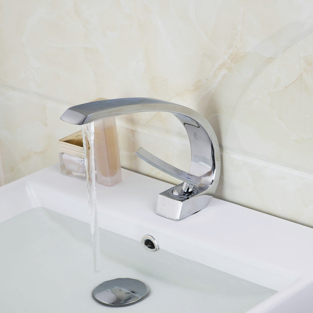 Good Quality and best price Deck Mount Waterfall Bathroom Faucet ...