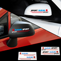 2 x espelho retrovisor do carro adesivo refletivo e decalque para suzuki swift grand vitara sx4 vitara jimny vitara 2016 acessórios
