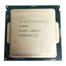 Intel Celeron G3900 Dual Core 2,8 GHz TDP 51 W LGA 1151 14nm Desktop CPU l3 2 MB Cache HD VGA verwendet cpu
