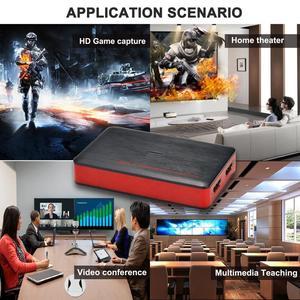 Image 5 - 4K فيديو بطاقة التقاط الصوت والفيديو USB3.0 HDMI فيديو المنتزع سجل صندوق ل PS4 لعبة دي في دي كاميرا تسجيل كاميرا بث مباشر 1080P 60Hz