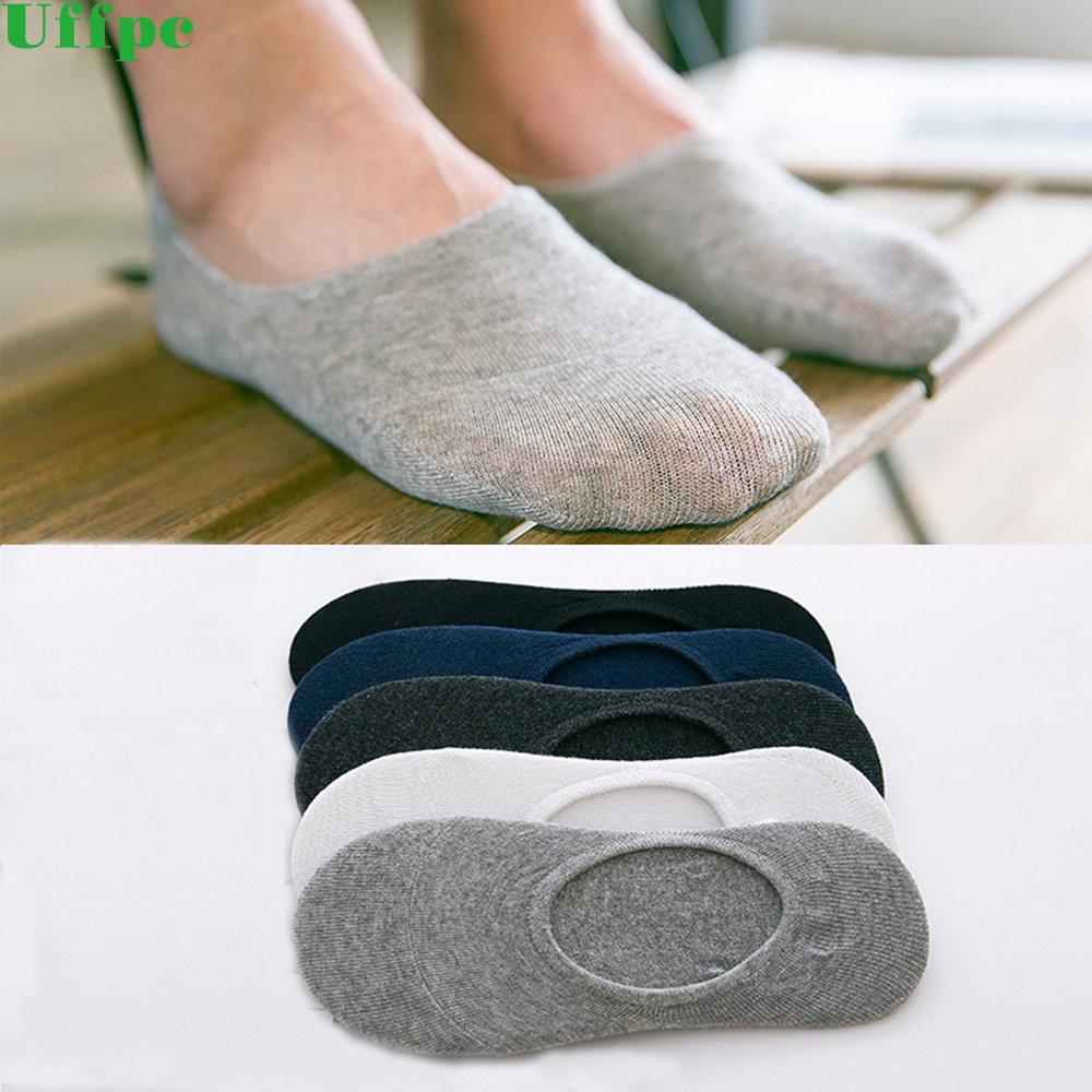 5 Pairs/Lot Spring Summer Men Cotton Ankle Socks for Mens Business Casual Solid Colors Short Socks Male Breathable thin