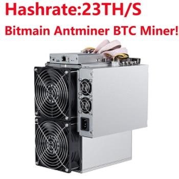 В наличии! Antminer T15 Bitmain новейший 7nm BTC BCH/BCC Майнер! AntMiner T15 23T, Майнер для майнинга с APW8 PSU, Asic, новый Майнер для майнинга по технологии Asic