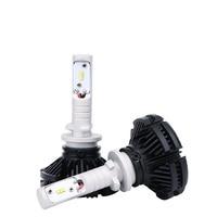 H27 880 881 LED Car Headlight Bulbs H4 H7 H1 H3 12V 24V 50W ZES LED Headlamp H8 H9 H11 Fog Lights