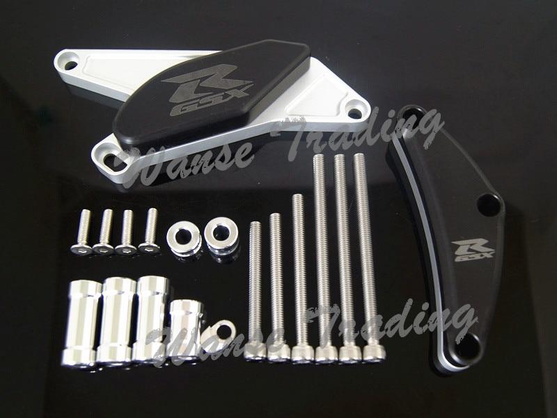Engine Cover Crash Pads Frame Sliders Protector For Suzuki GSXR750 GSXR 750 2006 2007 2008 2009 2010 2011 2012 2013 2014 2015 radiator grille protective cover grill guard protector for suzuki gsxr600 gsxr750 gsxr 600 750 2006 2007 2008 2009 2010 2016