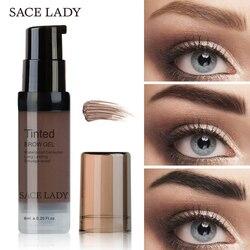 SACE DAME Wasserdichte Augenbraue Gel Make-Up Henna Schatten Für Augenbraue Farbton Natürliche Enhancer Make-Up Creme Lang Anhaltende Marke kosmetische
