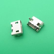 10 stuks Nieuwe Micro USB DC Opladen Socket Port Dock Connector vervanging voor HTC M7mini 601e een mini2 desire 620G 620