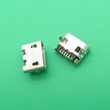 50 stuks Nieuwe Micro USB DC Opladen Socket Port Dock Connector vervanging voor HTC M7mini 601e een mini2 desire 620G 620