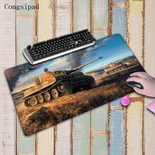Congsipad 90*40 см World of Tanks большой Мышь площадку для Мышь Notbook компьютерная Мышь Pad большой игровой pad оверлок край Мышь Pad