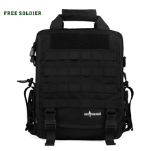 FREE SOLDIER Outdoor Tactical backpack Men women camping hiking travel backpack 14 inch laptop bag single shoulder military bags(China (Mainland))