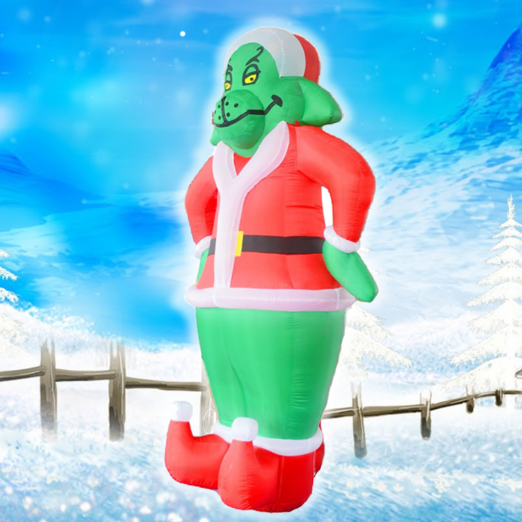 Blower For Inflatable Decorations : Popular christmas inflatable grinch buy cheap