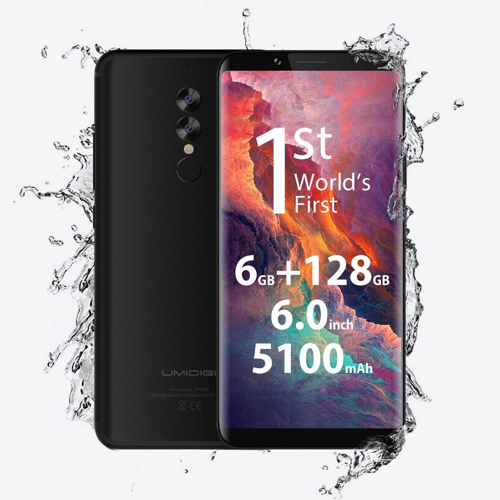"Original UMIDIGI S2 Pro Smartphone Helio P25 6.0\"" 16.0MP Dual Rear Camera 6GB RAM 128GB ROM Front Touch ID Mobile Phone 5100mAh"
