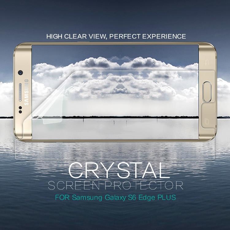 Nillkin HD Scrub Front + Camera film for Samsung Galaxy S6 Edge Plus screen protector for S6 Edge Plus protective screen film