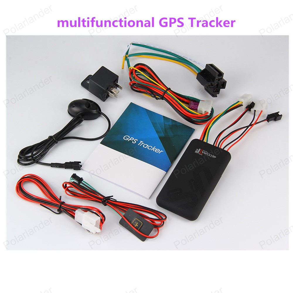 precise auto car GPS Tracker Vehicle Online Tracking System Monitor Remote Control Alarm for Motorcycle Locator Device